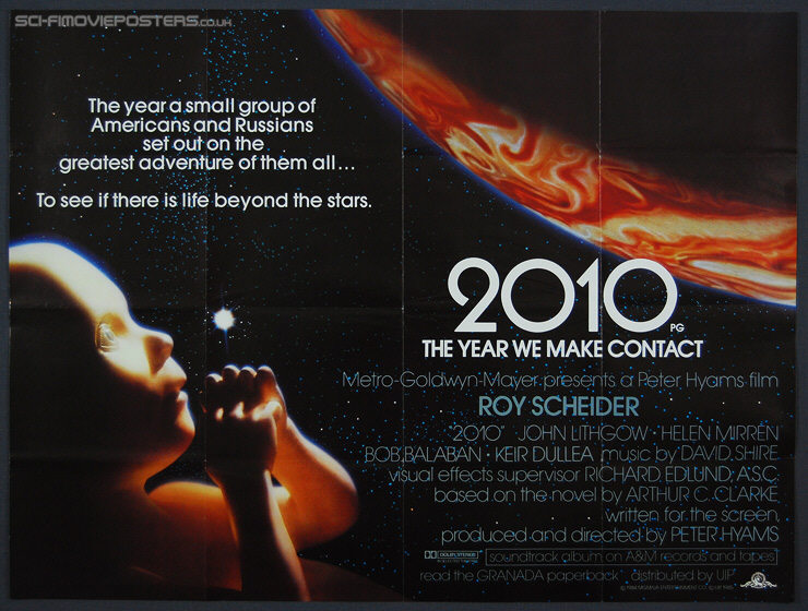 2010 Movie Posters: 2010: The Year We Make Contact (1985)