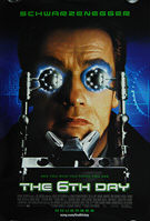 6th Day, The (2000) - Original US One Sheet Movie Poster
