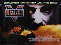 1984 - Nineteen Eighty-Four (1984) - Original Quad Movie Poster