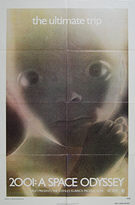 2001: A Space Odyssey (1968) Re-release 1974 - Original US One Sheet Movie Poster