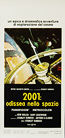 2001: A Space Odyssey (1968) Re-release 1971 - Original Italian Movie Poster