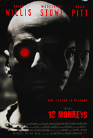 12 Monkeys (1995) - Original US One Sheet Movie Poster