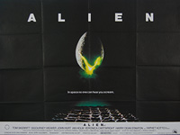 Alien (1979) - Original British Quad Movie Poster