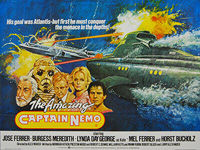 Amazing Captain Nemo, The (1978) - Original British Quad Movie Poster