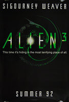 Alien 3 (1992) Advance - Original US One Sheet Movie Poster