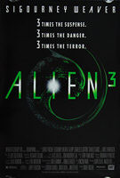 Alien 3 (1992) - Original US One Sheet Movie Poster