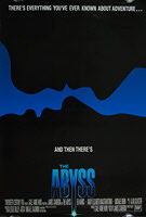 The Abyss (1989) - Original US One Sheet Movie Poster