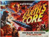 At the Earth's Core (1976) - Original British Quad Movie Poster
