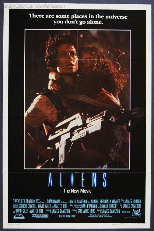 Aliens (1986) - Original International One Sheet Movie Film