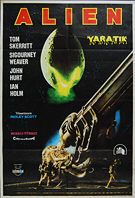 Alien (1979) - Original Turkish Movie Poster