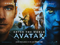 Avatar (2009) - Original British Quad Movie Poster