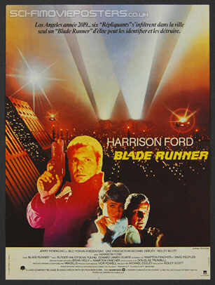 Blade Runner (1982) - Original French Movie Poster