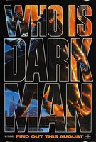 Darkman (1990) Advance - Original US One Sheet Movie Poster