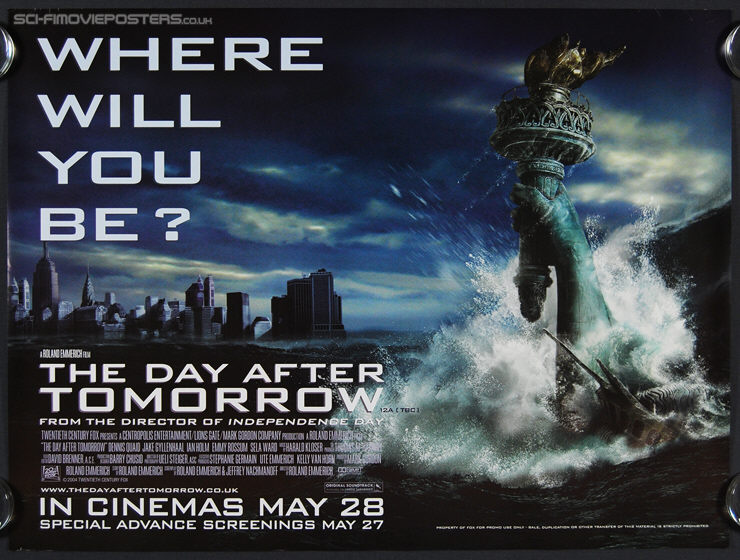 essays on the day after tomorrow movie