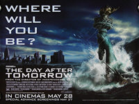 Day After Tomorrow, The (2004) - Original British Quad Movie Poster