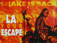 Escape from LA (1996) Advance - Original British Quad Movie Poster