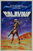 Galaxina (1980) - Original US One Sheet Movie Poster