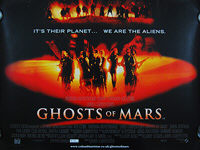 Ghosts of Mars (2001) - Original British Quad Movie Poster