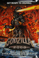 Godzilla 2000 (Gojira Ni-sen Mireniamu) (2000) - Original US One Sheet Movie Poster
