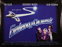 Galaxy Quest (1999) - Original British Quad Movie Poster