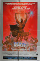 Heavy Metal Hitchhiker S Guide To The Galaxy Hulk Original British Quad And Us One Sheet Movie Posters