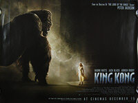 King Kong (2005) - Original British Quad Movie Poster