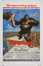 King Kong (1976) - Original US One Sheet Movie Poster