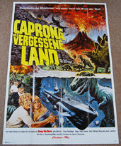 Land That Time Forgot, The (1975) - Original German One Sheet Movie Poster
