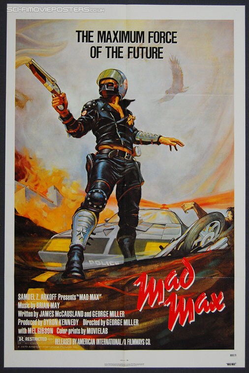 Mad Max (1979) - Original US One Sheet Movie Poster