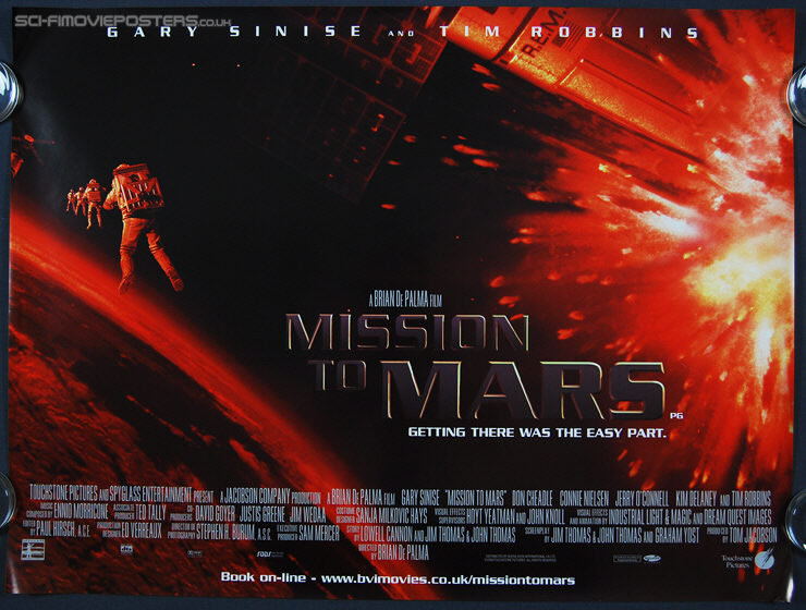 mission to mars poster - photo #25