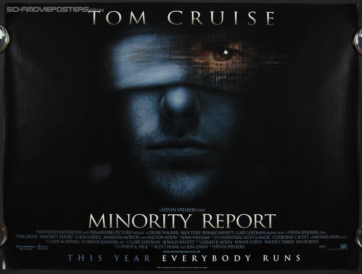 Minority Report (2002) - Vintage Poster