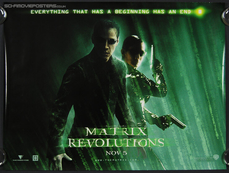 Movie Posters 2003: Matrix Revolutions, The (2003)