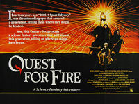 Quest for Fire (La Guerre du feu) (1981) - Original British Quad Movie Poster