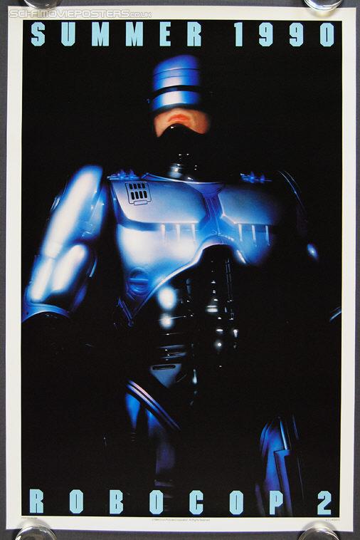 RoboCop 2 (1990) Advance - Original US One Sheet Movie Poster