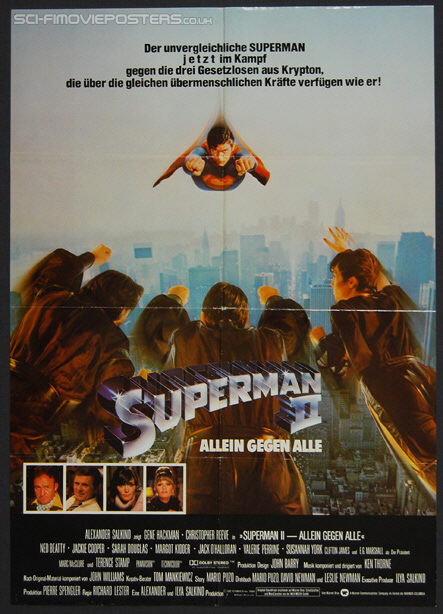 Superman 2 1980 poster