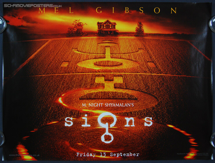 signs film poster