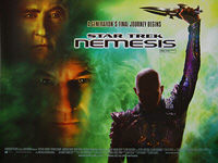 Star Trek: Nemesis (2002) - Original British Quad Movie Poster