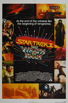 Star Trek II: The Wrath of Khan (1982) - Original US One Sheet Movie Poster