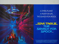 Star Trek III: The Search for Spock (1984) - Original British Quad Movie Poster