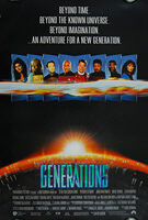 Star Trek: Generations (1994) International - Original One Sheet Movie Poster