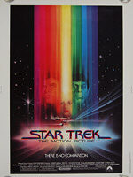 Star Trek: The Motion Picture (1979) - Original US One Sheet Movie Poster