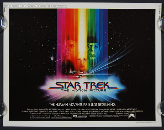 Star Trek: The Motion Picture (1979) - Original US Half Sheet Movie Poster