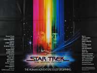Star Trek: The Motion Picture (1979) - Original British Quad Movie Poster