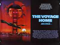 Star Trek IV: The Voyage Home (1986) - Original British Quad Movie Poster