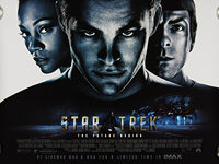 Star Trek: The Future Begins (2009) - Original British Quad Movie Poster