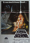 Star Wars (1977) (Krieg der Sterne) Re-release 1982 - Original German Movie Poster