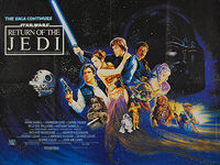Star Wars: Return of the Jedi (1983) - Original British Quad Movie Poster