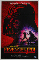 Star Wars: Revenge of the Jedi (1983) (not 'Return') - Original US One Sheet Movie Poster