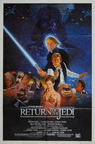 Star Wars: Return of the Jedi (1983) Style 'B' - Original US One Sheet Movie Poster
