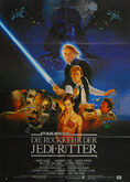 Star Wars: Return of the Jedi (1983) - Original German Movie Poster